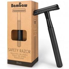 Bambaw Metal Safety Razor - Black