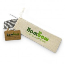 Bambaw Stainless Steel Straws x 6