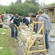 Dry Stone Wall Building  Saturday 22nd and Sunday 23rd July 2017 with Richard O'Gorman