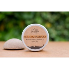 Solid Shampoo for Normal Hair – Amla and Sweet Marjoram