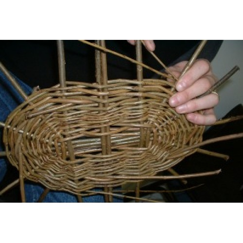 Willow Basket Weaving Dvd : Willow basket making